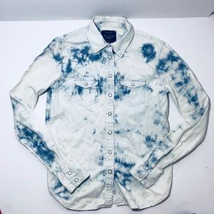 American eagle outfitters button up shirt small